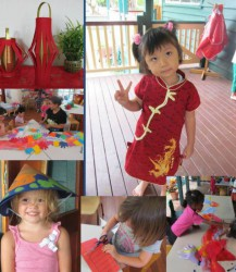 St Thomas honours the cultural diversity within the kindergarten by celebrating the Lunar New Year. The kindergarten was given a collection of Coolie Hats from one of our Vietnamese families and these were used as a model for the children to make their own.